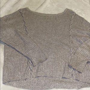taupe american eagle sweater!